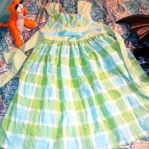 Pretty checkered Bonnie Jean dress